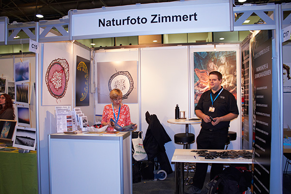Beate Messestand PA 2013 sb